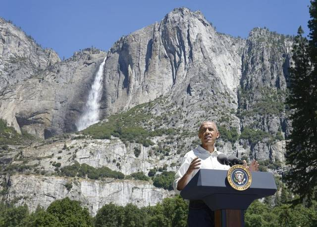 A Day in the Life of a Yosemite Guide in the Unlikely Event the President of the US Visits the Same Day a Trip Starts